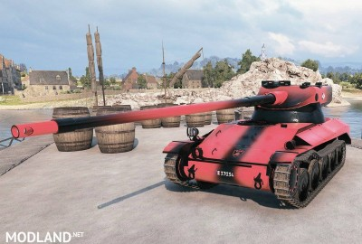 Red and Black Skin for the AMX 13 57 1.1.0 [1.1.0], 3 photo